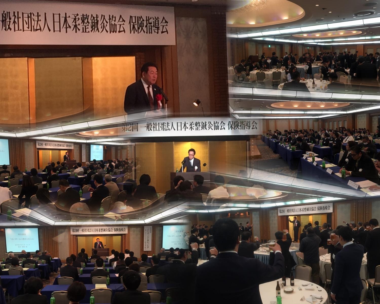 一般社団法人日本柔整鍼灸協会「第二回保険指導会及び懇親会」